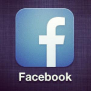 Logotip ter napis facebook