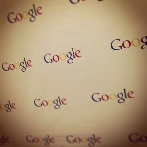 Google napisi na steni