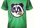 Zelena majica, z jezno pando